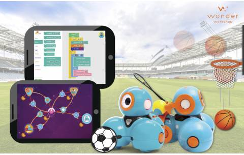 [On-site]  Junior Robotics - Sports Day with Dash! (3 hours)