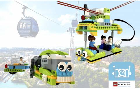 [On-site] LEGO WeDo 2.0 - Monorail & Cable Car (3 hours)